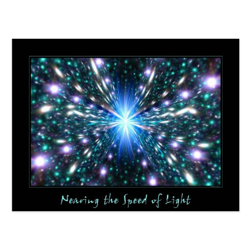 Nearing the Speed of Light Postcards