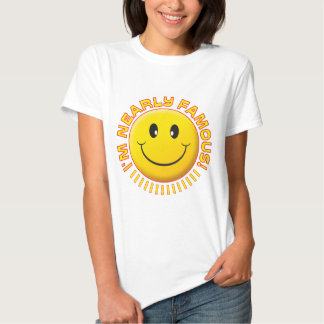 Nearly Famous Smiley T-shirt
