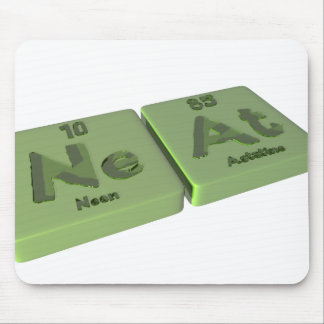 Neat as Ne Neon and At Astatine Mousepad