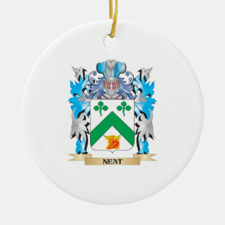 Neat Coat of Arms - Family Crest Christmas Ornament