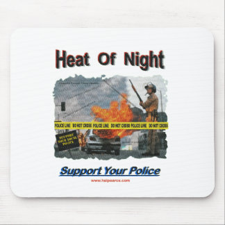 Neat Of Night Texurizerd Mouse Pad