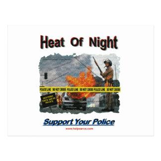 Neat Of Night Texurizerd Postcard