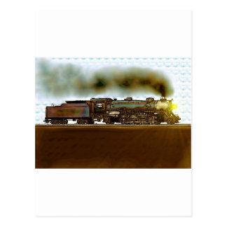 Neat Railroad Scenery Postcard