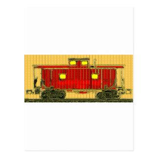 Neat Railroadiana Postcard