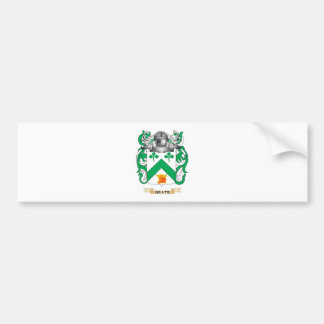 Neate Coat of Arms Family Crest Bumper Stickers
