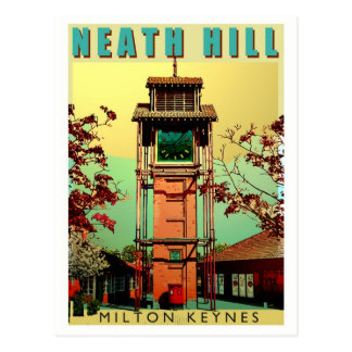 Neath Hill Art Deco postcard