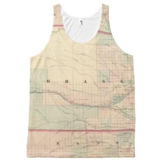 Nebraska 2 All-Over print tank top