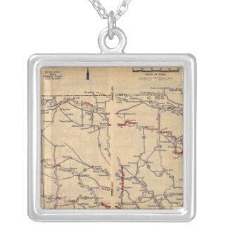 Nebraska 2 silver plated necklace