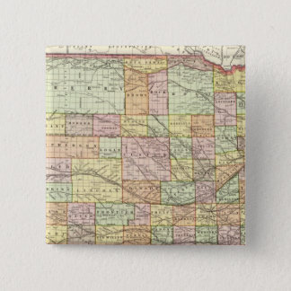Nebraska 4 15 cm square badge