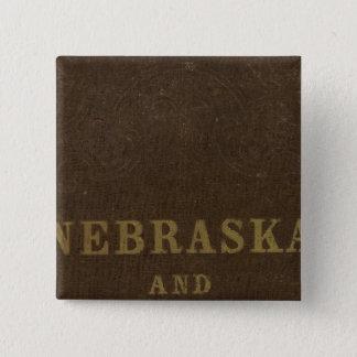 Nebraska and Kansas 15 Cm Square Badge