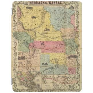 Nebraska and Kansas 2 iPad Cover