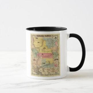 Nebraska and Kansas 2 Mug