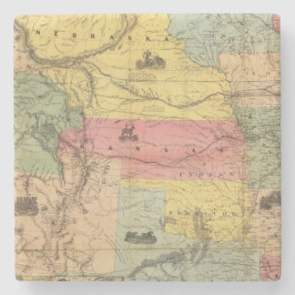 Nebraska and Kansas 2 Stone Coaster