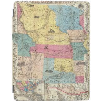 Nebraska and Kansas 3 iPad Cover