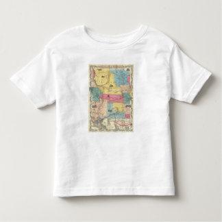 Nebraska and Kansas 3 Toddler T-Shirt