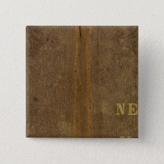 Nebraska and Kansas 4 15 Cm Square Badge