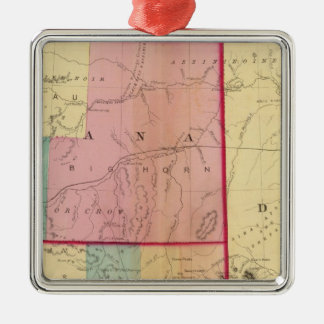 Nebraska and The Dakotas Christmas Ornament