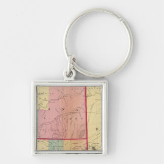 Nebraska and The Dakotas Key Ring