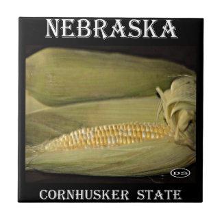 Nebraska Cornhusker State Ceramic Tiles