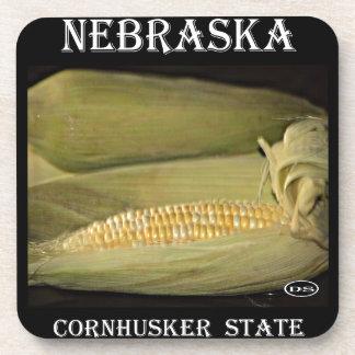 Nebraska Cornhusker State Drink Coasters