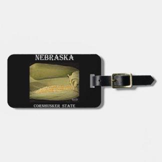 Nebraska Cornhusker State Travel Bag Tags