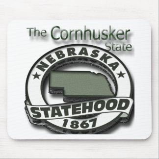Nebraska Cornhusker Statehood Mouse Pad