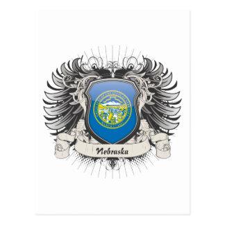 Nebraska Crest Postcard