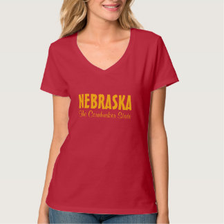 NEBRASKA custom text clothing T-Shirt