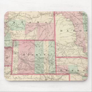 Nebraska, Dakota, Idaho, Montana, and Wyoming Mouse Mat