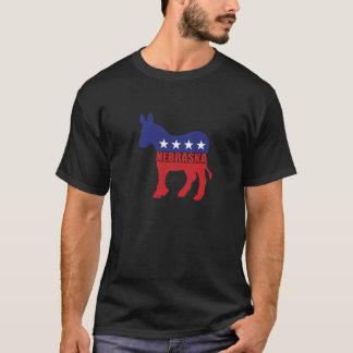 Nebraska Democrat Donkey T-Shirt
