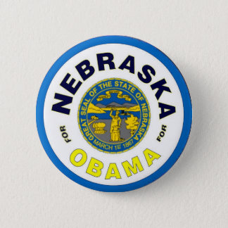 NEBRASKA FOR OBAMA Button