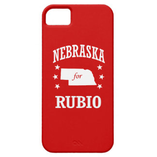 NEBRASKA FOR RUBIO BARELY THERE iPhone 5 CASE