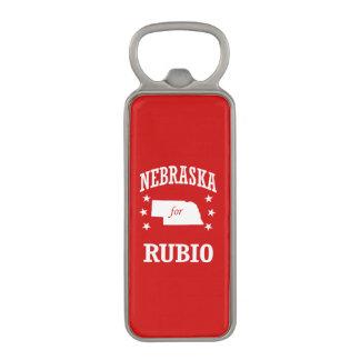 NEBRASKA FOR RUBIO MAGNETIC BOTTLE OPENER