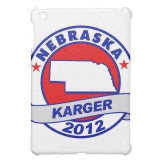 Nebraska Fred Karger iPad Mini Cover