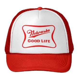 Nebraska Good Life Snapback Cap
