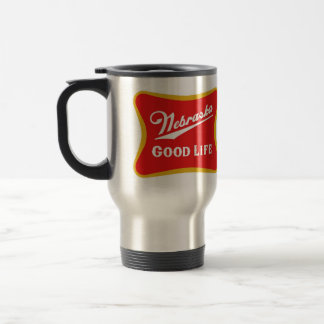 Nebraska Good Life Travel Mug