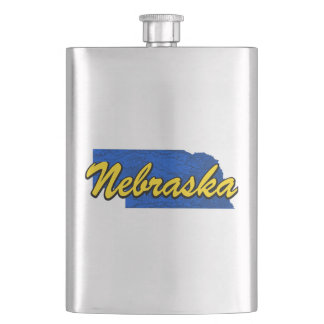 Nebraska Hip Flask