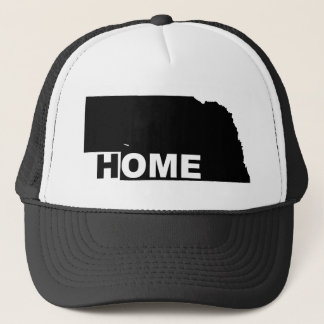 Nebraska Home Away From State Ball Cap Hat