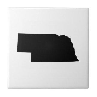 Nebraska in Black Tile