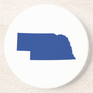 Nebraska in Blue Coaster