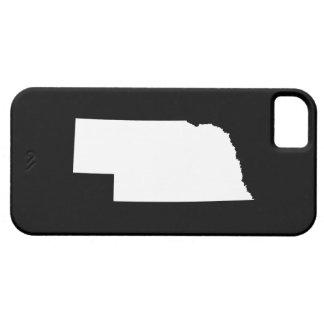 Nebraska in White iPhone 5 Case