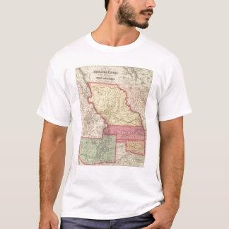 Nebraska, Kansas, New Mexico T-Shirt