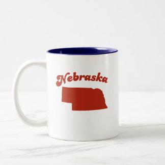 NEBRASKA Red State Mug