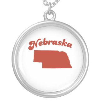 NEBRASKA Red State Custom Necklace