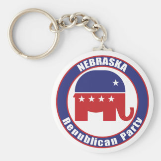 Nebraska Republican Party Key Ring