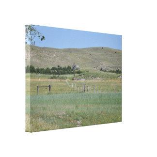 Nebraska Sandhills Wrapped Canvas Canvas Prints