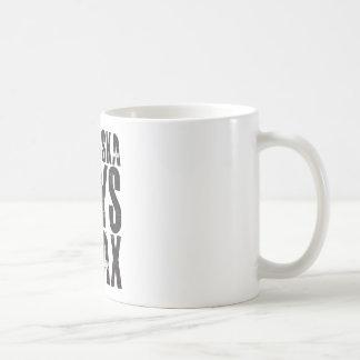 Nebraska Says Relax Coffee Mug