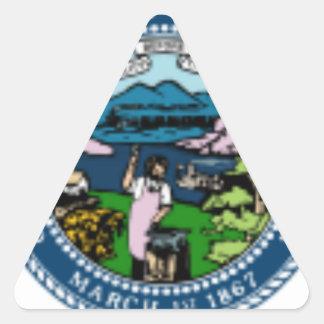 Nebraska Seal Triangle Sticker