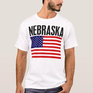 Nebraska, Stars and Stripes T-Shirt