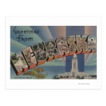 Nebraska (State Capital/Flower) Post Cards